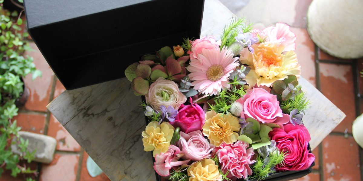BOX-Flower Arrangement