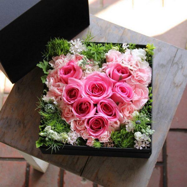 BOX-Flower Heart