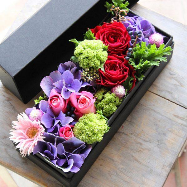 BOX-Flower Rectangle